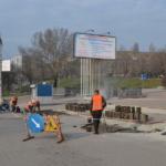 Ремонт тротуаров по пр. Ленинскому