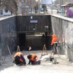Ремонт подземного перехода по адресу пр. Ленинский (цирк Космос)