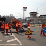 Выполнение работ по текущему ремонту асфальтобетонных покрытий автодорог