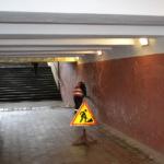 Ремонт подземных переходов по  ул. Университетской (парк им. Щербакова) и пр. П. Коммунаров («УТОС»)