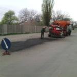 Текущий ремонт автодорог  методом пневмонабрызга