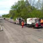 Текущий ремонт автодорог методом регенерации