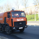 Механизированная уборка автодорог