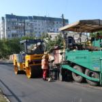Ремонт ул. Одесской в Ленинском районе г. Донецка