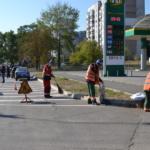 Ручная уборка автодорог в г. Донецке