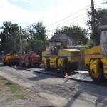 Работы по ремонту автодороги по ул. Одесской продолжаются
