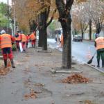 Уборка автодорог и тротуаров города