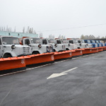 Зимняя механизированная уборка автодорог