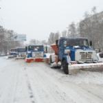 Ликвидация последствий снегопадов
