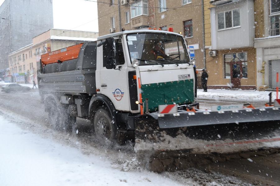 Содержание городских автодорог в зимний период