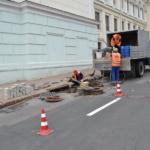 Ремонт ливнеприёмных колодцев и прочистка ливневой канализации