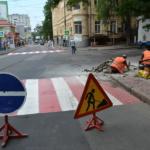 Устройство пандусов на пешеходных переходах