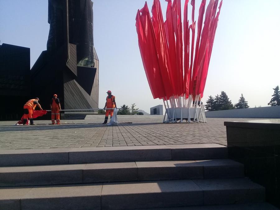 Подготовка к празднованию 76-й годовщины освобождения Донбасса