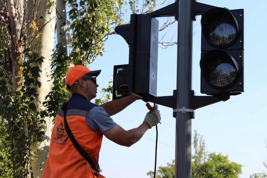 Текущий ремонт светофорных объектов