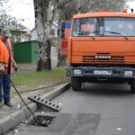 Завершение работ по подготовке ливневой канализации к осенне-зимнему периоду
