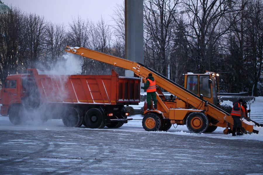 Зимнее содержание автодорог