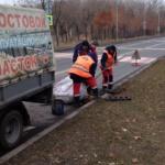 Очистка решеток ливневой канализации